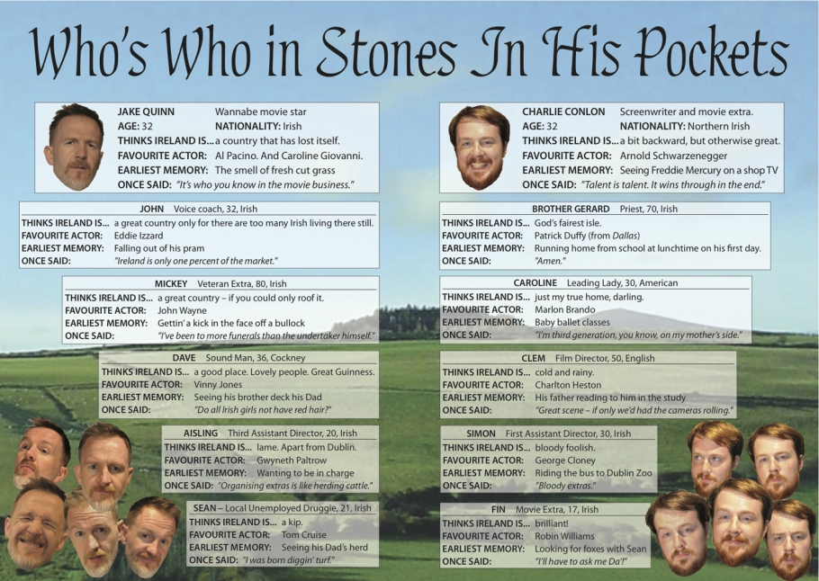 Who's Who in Stones In His Pockets