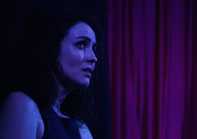 Siobhan McMillan in Mirrors (Leicester Square Theatre, 2018)